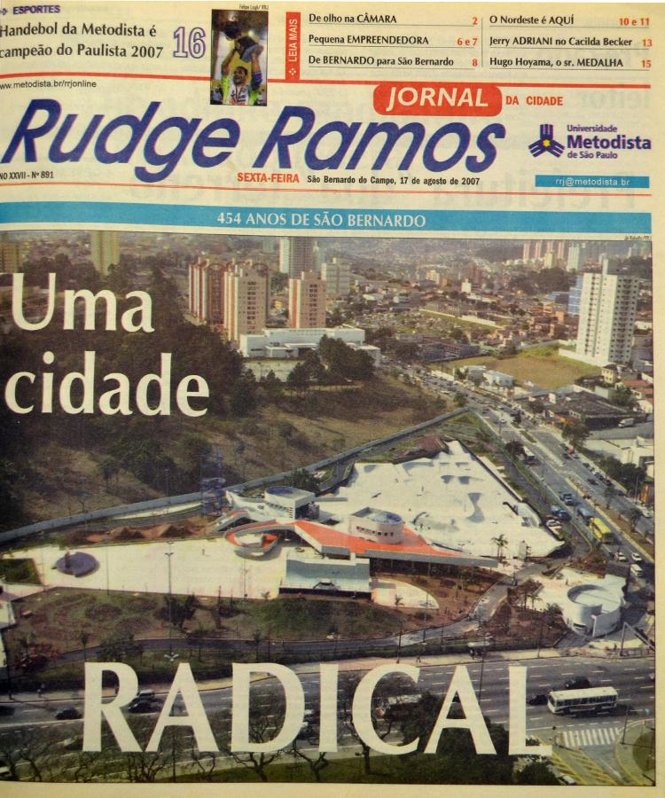 Rudge Ramos Jornal ganha cara nova