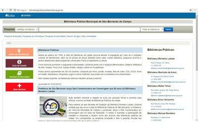 Bibliotecas Públicas de São Bernardo agora estão informatizadas