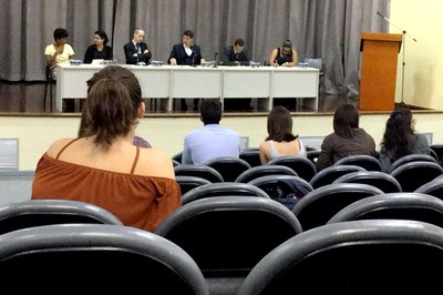 Audiência Pública na FDSBC. Foto: Giovanna Uchoa/Arquivo Pessoal