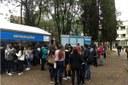 Estudantes conhecem Redação Multimídia durante evento da Metodista