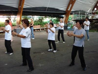Parque Escola oferece cursos de Yoga, Tai Chi e Liang Gong grátis