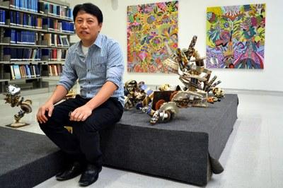 Metodista recebe exposição de Marcos Akasaki