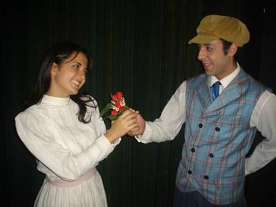 A história de Bentinho e Capitu no Teatro Municipal de Santo André