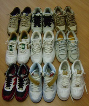 Tênis viram muito mais do que calçados nos pés dos colecionadores