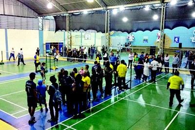 São Bernardo ganha centro de treinamento de badminton no Rudge Ramos