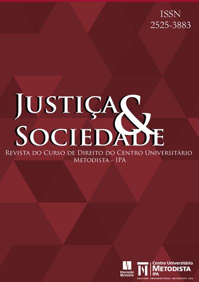 Justiça & Sociedade - Revista do Curso de Direito do IPA